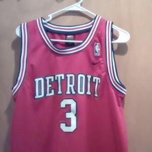 Detroit Piston's Ben Wallace jersey
